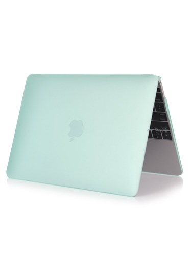 "Mcstorey MacBook Air A1465  A1370 11.6"" Kılıf Kapak Koruyucu Hard Incase Mat Turkuaz"